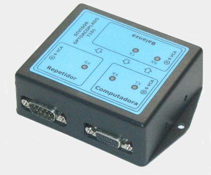 Divisor Optoacoplado RS232 – Modelo T101