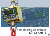 Dinamómetro Electrónico AHS-I