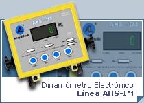 Dinamómetro Electrónico AHS-IM