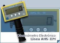 Dinamómetro Electrónico AHS-IIM