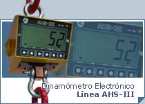 Dinamómetro Electrónico AHS-III