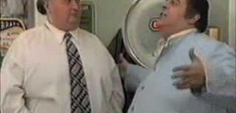 El gordo y la balanza