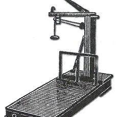 Balanzas de plataforma a tubo con palanca (forrajeras)