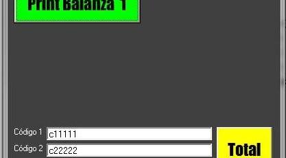 Software de Pesaje e Impresión PA232