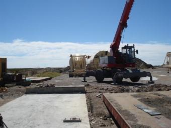 Montaje balanza camiones Mettler-Toledo