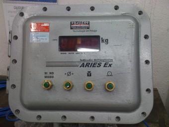 Sistema de pesaje Antiexplosivo (Ex) para Central Termoeléctrica