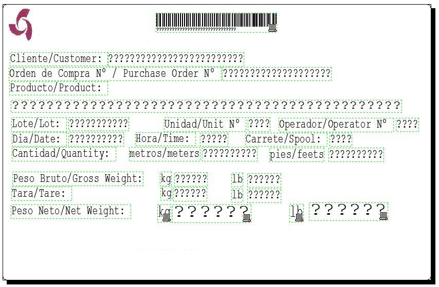Sistema Integral de Etiquetado y Lista de Empaque